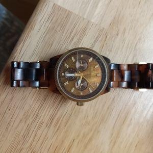 Michael Kors Turtle Shell Watch
